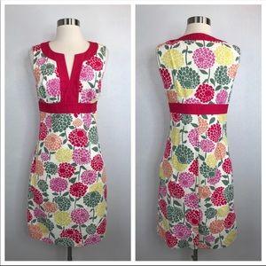 Boden Floral Career Shift Dress 4
